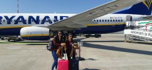 Llegada a Italia