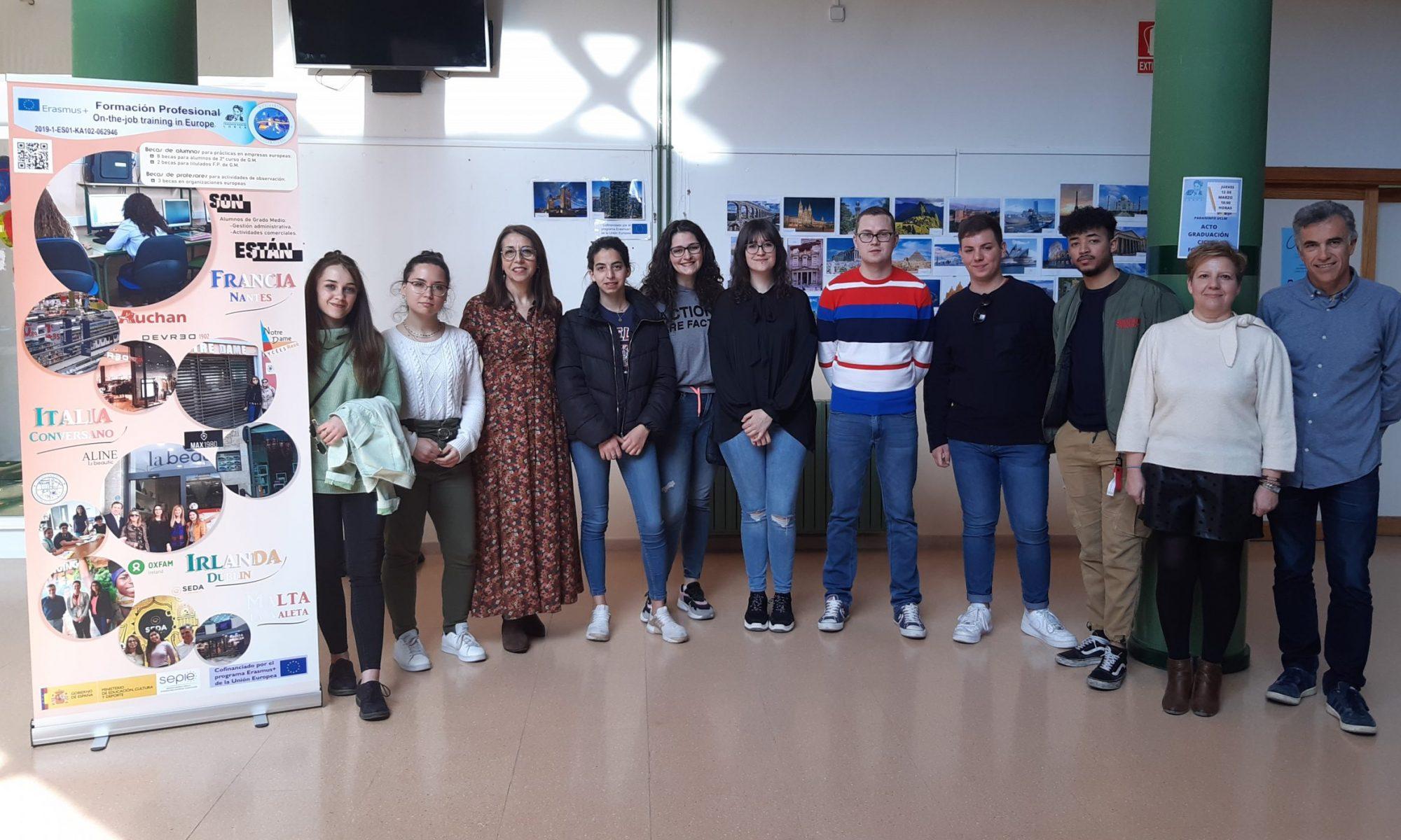 Alumnos seleccionados para el proyecto